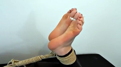 Foot, Tickle, Tickling, Hogtied, Tickled foot