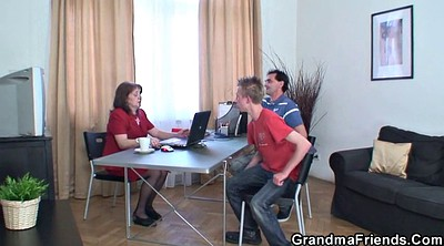 Office, Granny threesome