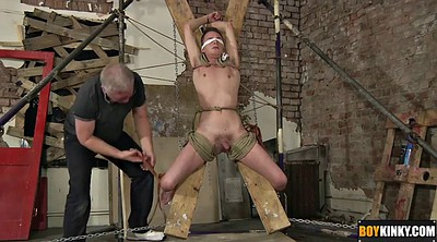 Bondage, Tie, Gay big cock, Big man