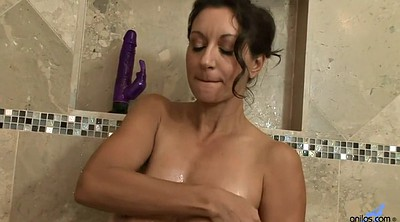 Mature shower, Milf solo