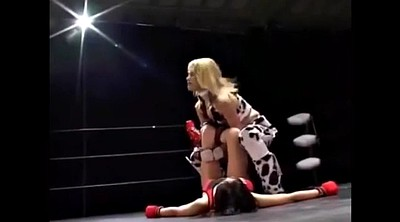 Japanese lesbian, Japanese cosplay, Wrestling, Fight