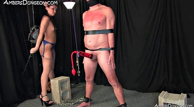 Male, Mistress, Male slave, Punished