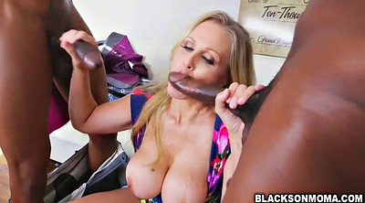 Julia ann, Ebony, Julia, Black cock, Ann