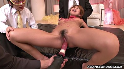 Japanese office, Gyno, Japanese bdsm, Wax, Japanese bondage, Gag