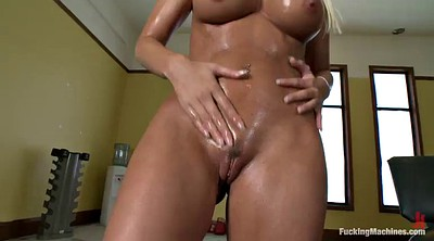 Machine, Oil, Brooke, Milfs, Milf orgasm, Machines