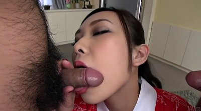 Threesome asian, Two girls, Japanese two