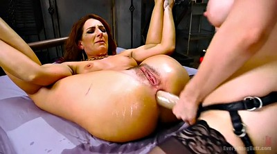 Monster, Gaping, Double fisting, Lesbian bdsm, Double penetration, Lesbians squirt