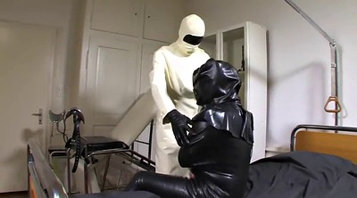 Rubber, Rubber latex, Leila, Doctor bdsm
