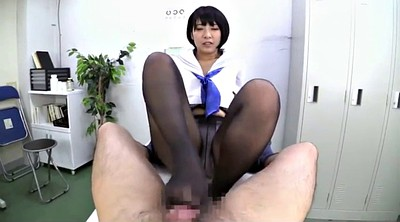 Nylon, Asian foot, Foot job, Asian nylon