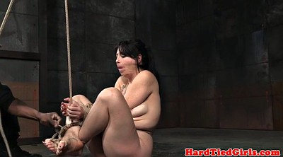 Tit bondage, Tied up, Tied tits, Interracial bondage