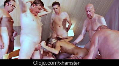 Seduction, Granny gangbang, Teenie, Old men, Old gangbang, Teen seduction