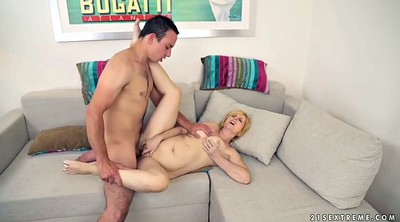 Missionary, Mature blonde gets fucked