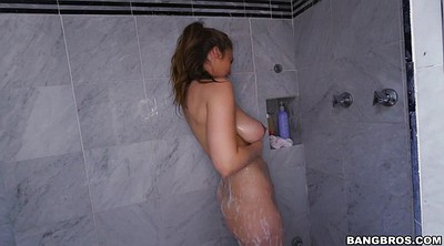 Lena paul, Big natural, Paul, Hairy shower, Huge natural tits, Big ass solo