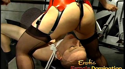 Femdom, Asian femdom, Tied, Asian bdsm, Make up, Tie