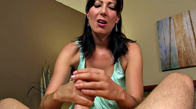 Spy, Zoey holloway, Spy mom, Catch, Mom handjob, Son mom