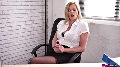 Milf, Boss, Office boss, Milf office, Milf boss, Fuck toy