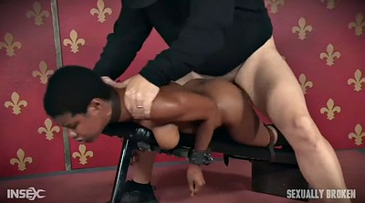 Sex, Black sex, Strapon femdom, Rough interracial
