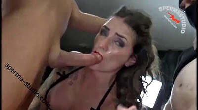 Creampie compilation, Creampie gangbang, German compilation