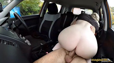 Spanks, Car handjob, Satin