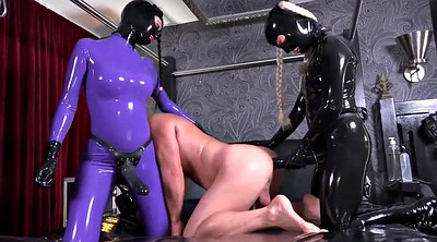 Pegging, Pegged, Latex strapon, Latex anal