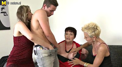Milf boy, Milf and boy, Mature young, Grandmother