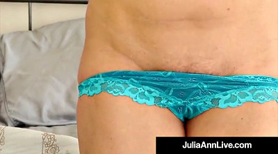 Julia ann, Nylon, Busty stocking, Pantyhose mature, Mature pantyhose, Bra