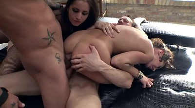 Gape, French anal, Double penetration