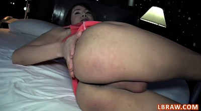 Shemale cum, Asian ass