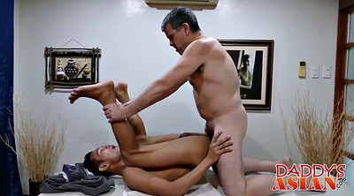Old asian, Asian interracial, Asian old