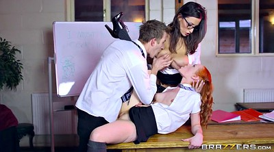 Sensual jane, Uniform, Danny, Jane, Teacher threesome, Teacher fuck student