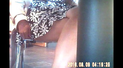 Upskirt, Under table, Under