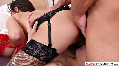 Chubby threesome, Violet starr