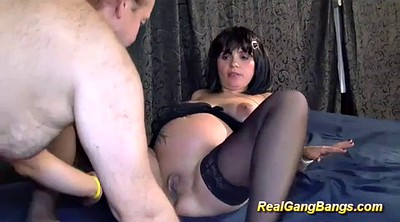German, Pregnant amateur, Pregnant group, Pregnant gangbang