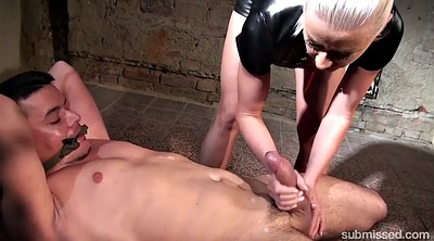 Tied, Whip, Femdom handjob, Whipping, Tied up
