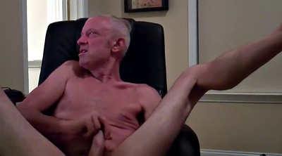 Sex, Masturbating, Gay daddy, Dad gay, Computer, Chair