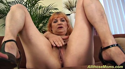 Mom, Mom masturbating, Mom hairy, Hairy mom