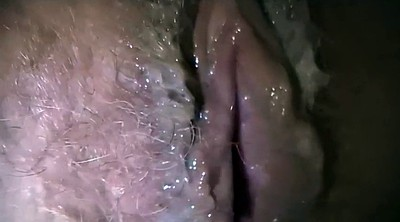 Big creampie, Full, Clit