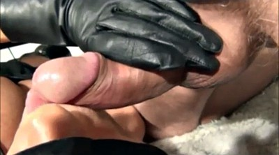 Glove, Gloves, Leather gloves, Gloves handjob, Glove handjob