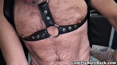 Leather, Hairy anal, Swinging, Swing