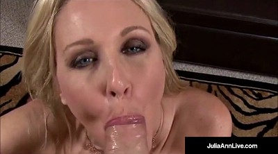 Julia, Julia ann, Dirty talk, Dirty mature, Mega tits
