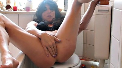 German dildo, Bathroom