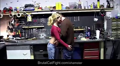 Fight, Catfight, Cat, Spanked