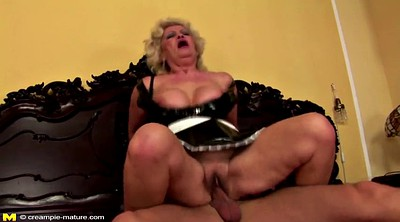 Boy, Granny and boy, Granny creampie, Old creampie, Mature and young, Fuck granny