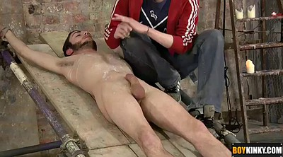 Bondage, Boys, Bondage handjob, Bdsm boy, Handsome boy, Down
