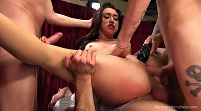 Gangbang bbw, Bbw gangbang, Five, All holes