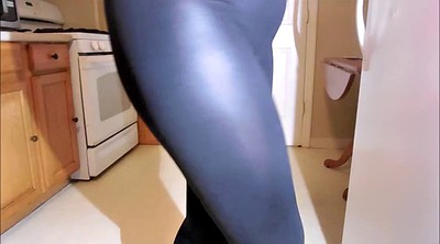 Spandex, Legs, Leather, No panty