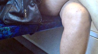 Milf, Train, Upskirt