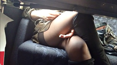 Pantyhose, Upskirts, Under, Table, Public nudity, Pantyhose upskirt
