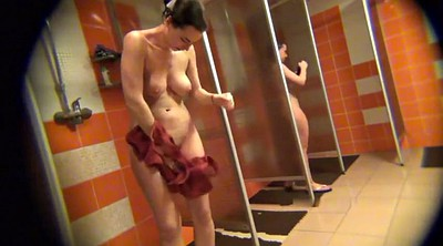 Cam, Female, Peep, Hidden shower