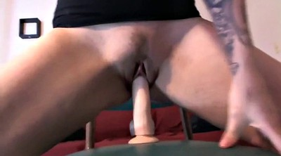 Huge ass, Huge dildo